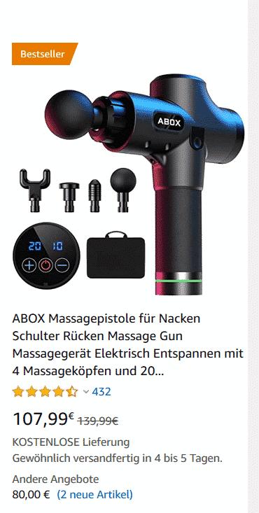 Abox Massage Gun