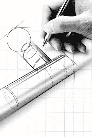 ChiroGun mini Massage Gun Design